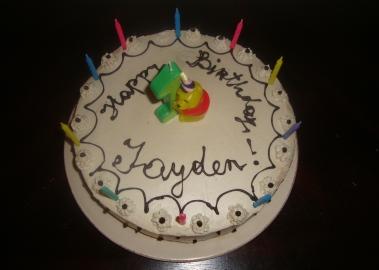 Peachy My 1St Raw Vegan Birthday Cake Creation Funny Birthday Cards Online Eattedamsfinfo