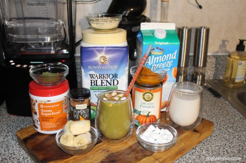 pumpkin pie smoothie 2